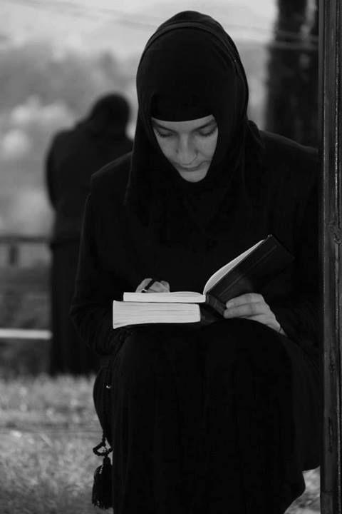 An Eastern Orthodox nun