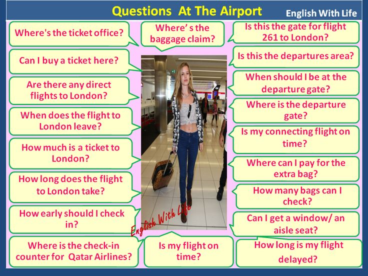 Questions at the Airport