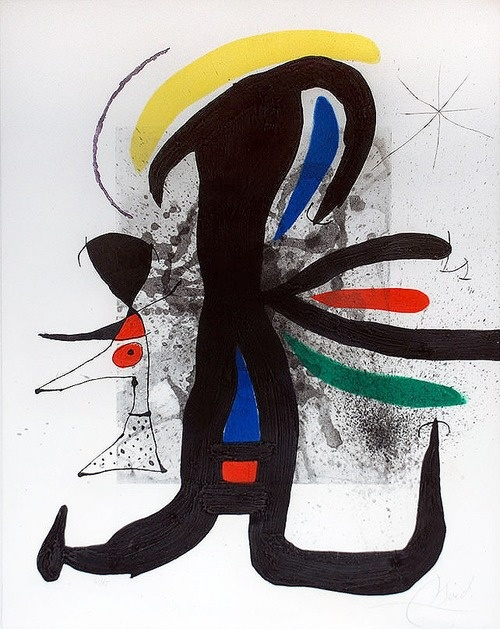 Joan Miro (Abstrakte Malerei)