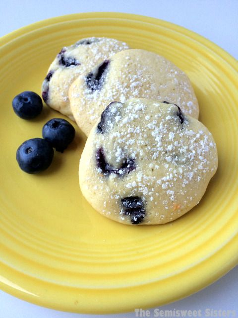 Blueberry Sour Cream Drop Cookies.