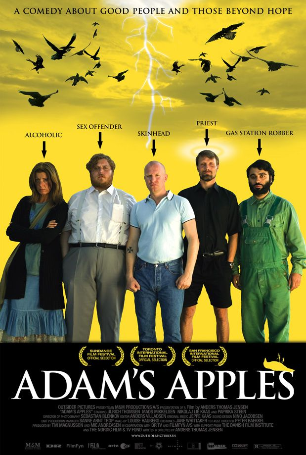 Adam's Apple (2005) VERY black comedy. Be prepared to laugh at totally inappropriate humor.