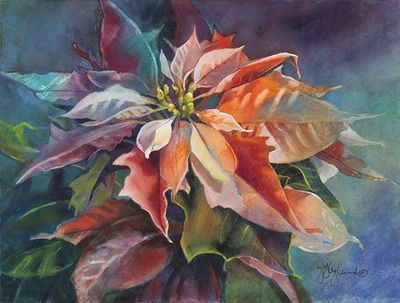Watercolor Flower Paintings - Jeanne Hyland, Artist & Instructor                                                                                                                                                                                 Mais