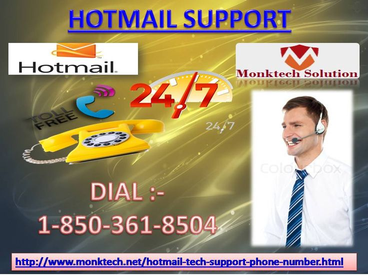 Who can resolve My Hotmail Email issues Via 1-850-361-8504 Hotmail Support? Our certified consultants can give you the optimum answer to resolve your Hotmail email issues during a few seconds. So, lend a hand to our techies UN agency area unit just about user friendly in nature in order that anyone will freely asked their queries and obtain your problems simply resolved. Do hurry! build a hoop on Hotmail Support variety 1-850-361-8504 to avail the service. For more information visit our…