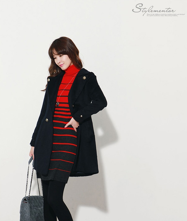 red stripes dress, see more on thehallyu.com!