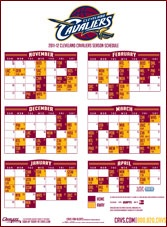 Download the 2012-13 Cavaliers Schedule | THE OFFICIAL SITE OF THE CLEVELAND CAVALIERS