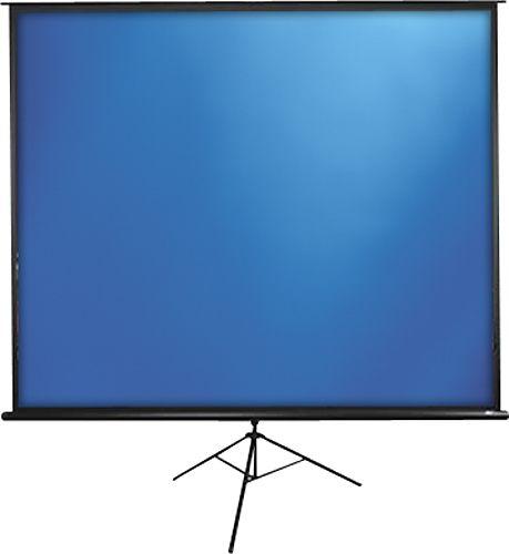 "Elite Screens - Tripod Series 120"" Portable Projector Screen - White/Black"