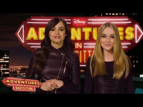 The First 10 Minutes of The Newest DCOM Adventures in Babysitting | TigerBeat