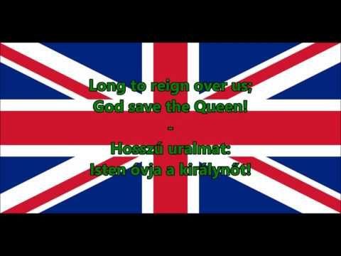 Az Egyesült Királyság himnusza (Magyar) - Anthem of UK - YouTube