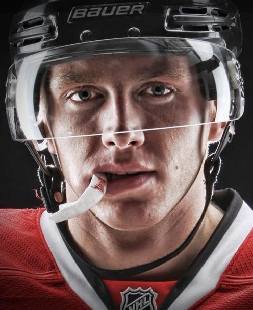 hockey players.. Patrick Kane ( I may be a pens fan, but I can appreciate)