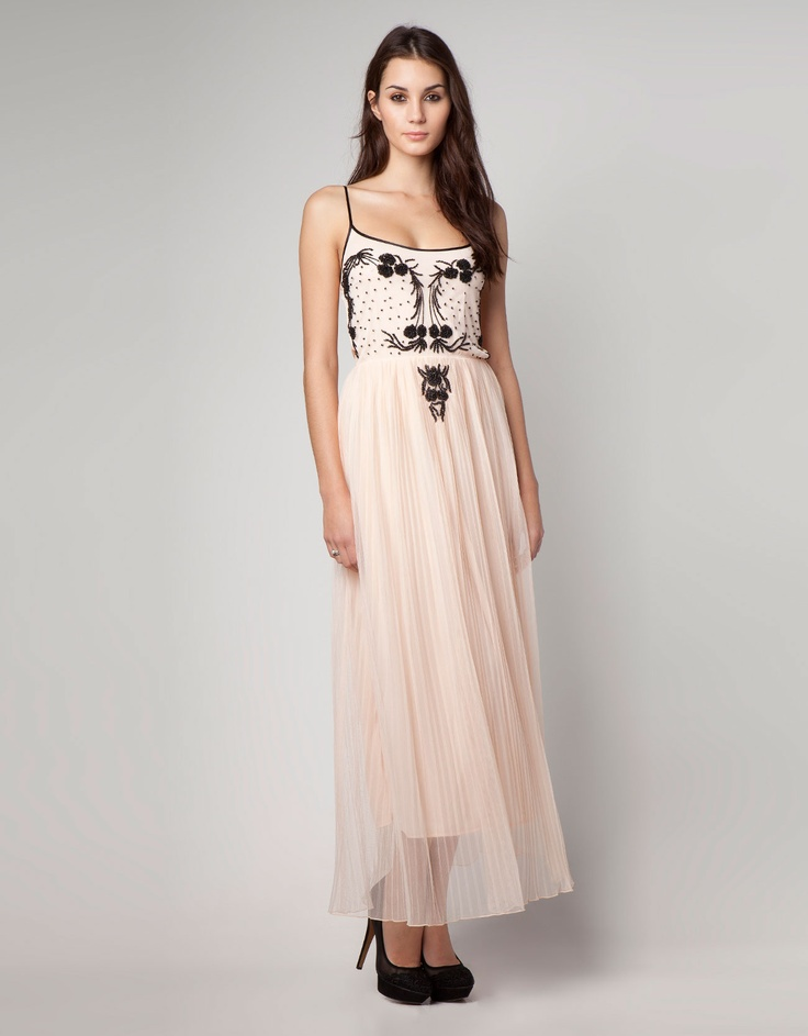 Bershka United Kingdom - Bershka dress with pleated skirt
