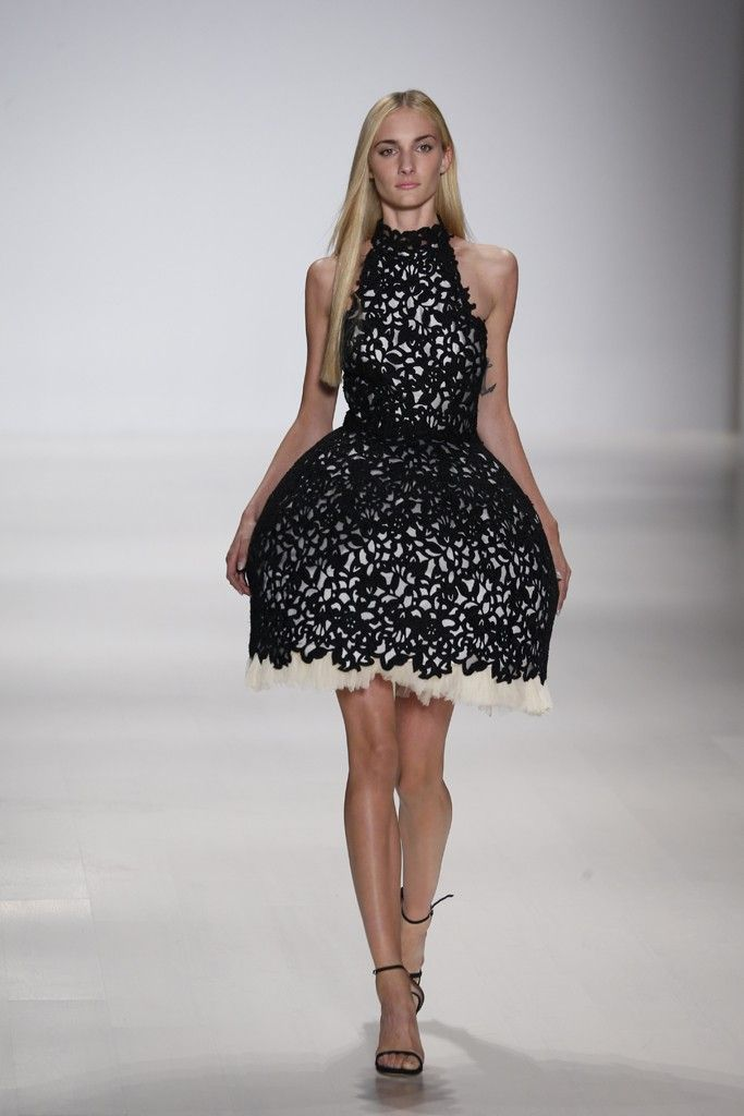 Some unrealistic yet fun frocks from August Getty RTW Spring 2015 #NYFW2015