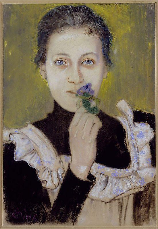 Dziewczynka z fiołkami, Stanisław Wyspiański