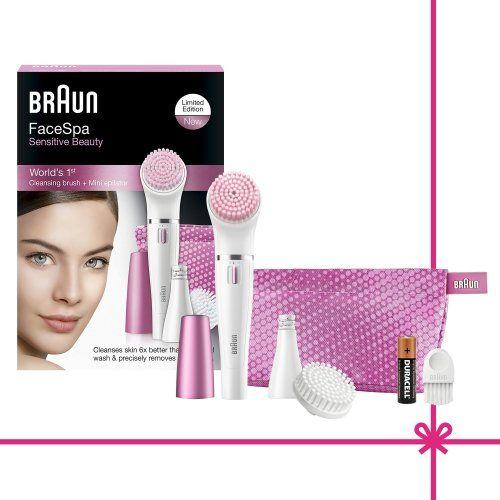 ¡Chollito! Set de regalo Braun Face 832 con depiladora facial y cepillo de limpieza facial por 36 euros.