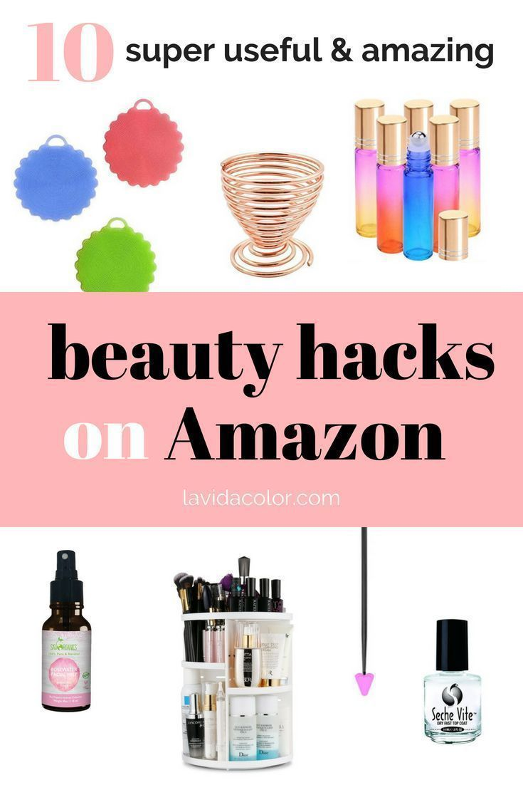 These Beauty Hacks On Amazon Will Improve Your Daily Beauty Routine And Are Super Affordable Here In 2020 Amazon Beauty Products Beauty Routines Daily Beauty Routine