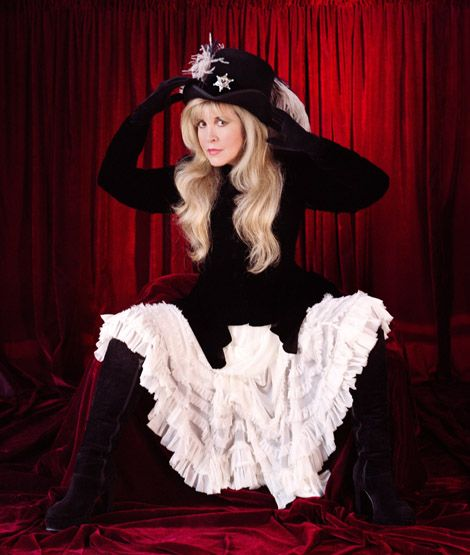 Stevie Nicks has always seemed to have an edge to me, kind of doing as she pleases without much regard for judgement.