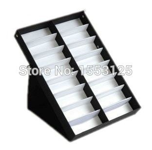 16grid can vertical sunglasses display boxes, glasses, jewelry, watches, accessories display box/box