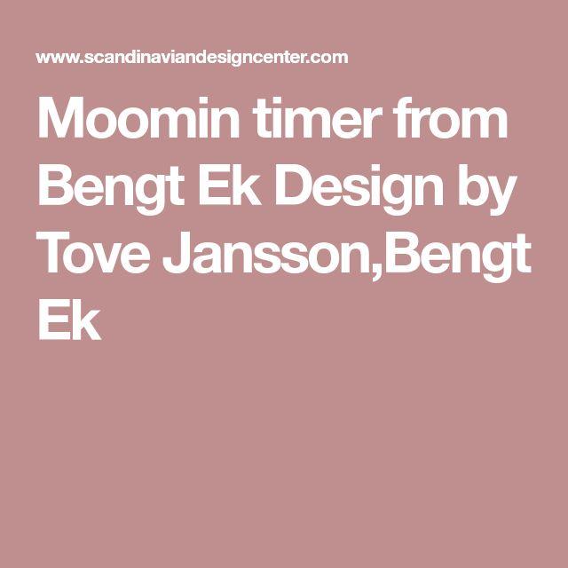 Moomin timer from Bengt Ek Design by Tove Jansson,Bengt Ek