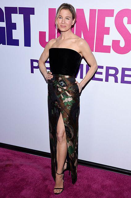 """Рене Зеллвегер на премьере фильма """"Бриджит Джонс 3"""" в Нью-Йорке"""