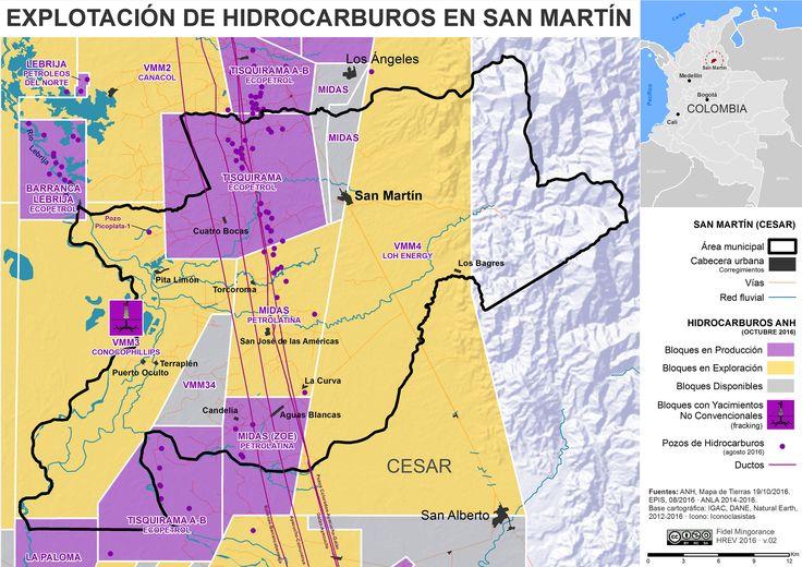 Explotación de hidrocarburos en San Martín (Cesar)