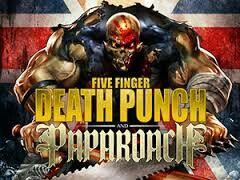 Five Finger Death Punch and Papa Roach  Hovet Stockholm Sweden 4 Nov 2015