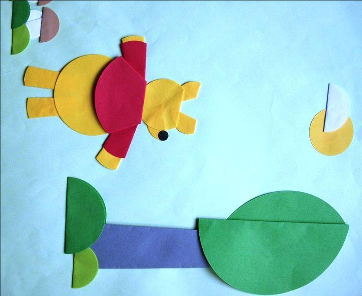 personajes de cuentos infantiles de origami - Winnie the Pooh
