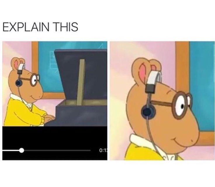 Arthur's headphones tho... - #funny #lol #viralvids