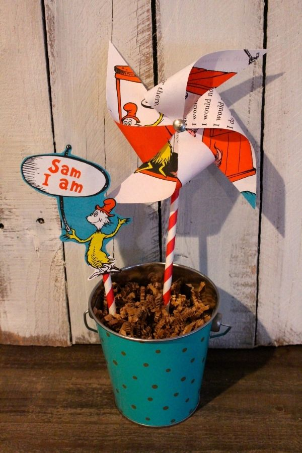 DIY Dr. Seuss Pinwheels in 15 Minutes or Less — Weekend Craft