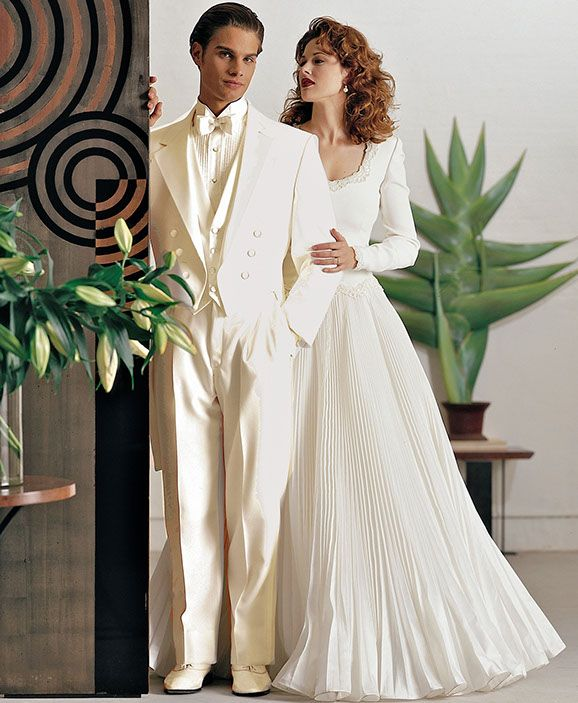 Thomas & Sons Tuxedos & Suits Ivory Tails