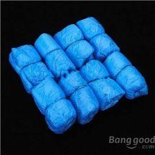 Buyone дешевые 100x одноразовые пластиковые толстая чистка ковров бахилы(China (Mainland))