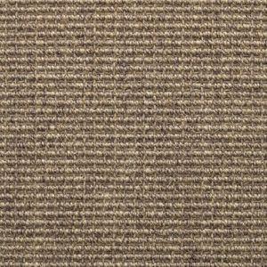 Gray sisal rug.
