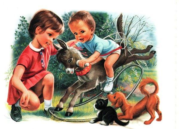souvenirs enfance avec martine - Page 2   Иллюстрации