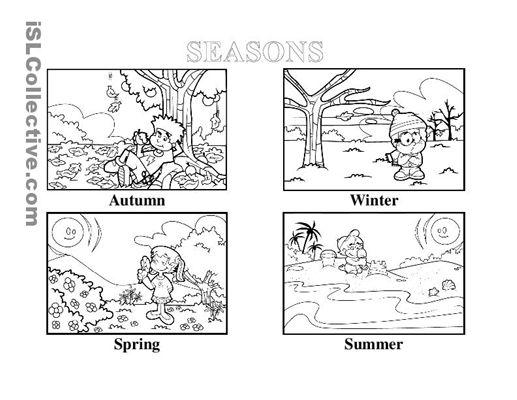 image result for seasons for kindergarten al ain seasons worksheets seasons lessons. Black Bedroom Furniture Sets. Home Design Ideas