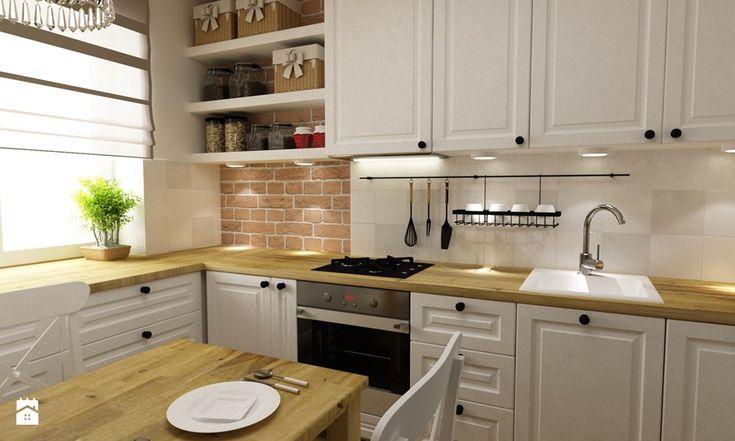 Kuchnia styl Skandynawski Kuchnia - zdjęcie od Grafika i Projekt architektura wnętrz