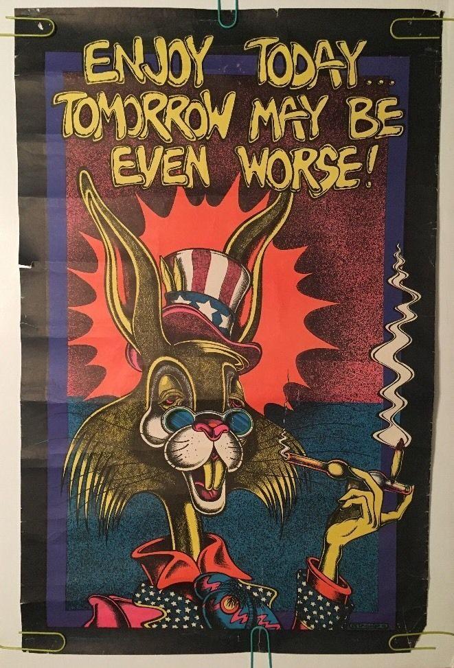 386 best Vintage Black Light Posters images on Pinterest ...