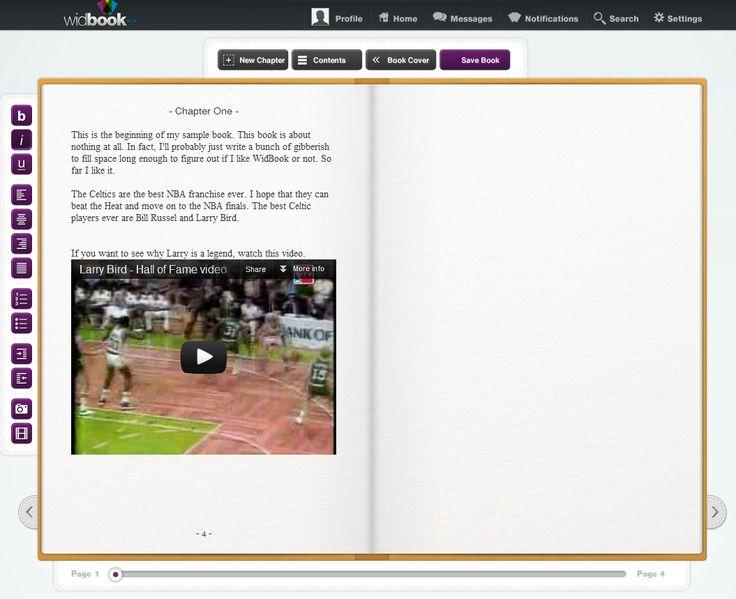 Scrivere libri digitali in maniera collaborativa: Widbook