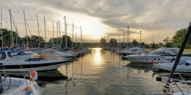 Port jachtowy w Kołobrzegu. Photo by GB #Kolobrzeg #Kolberg #port #marina #marinasolna