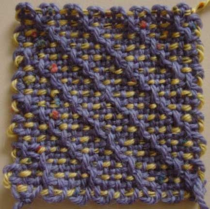 4-inch weave-it square