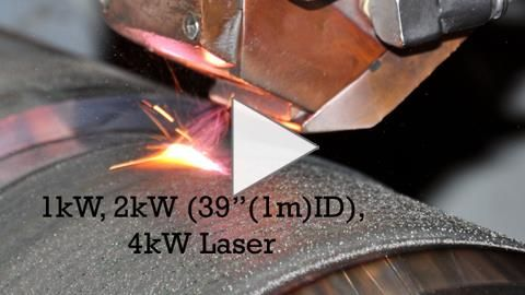 Laser Cladding by FW Gartner: The Laser Cladding process is essentially a welding process utilizing an infinitely controllable laser beam as its heat source.