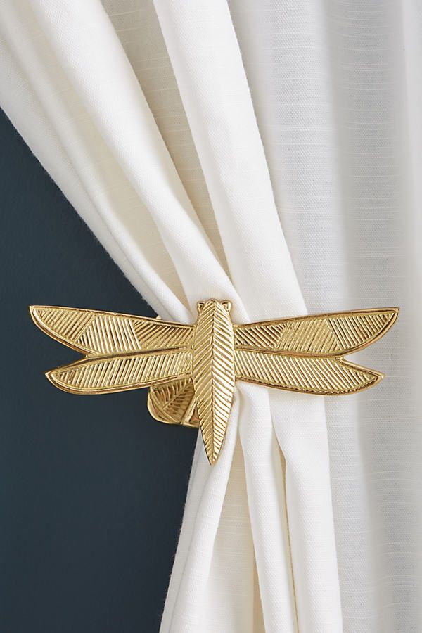 Curtain Hold backs Tie Backs Elegant Rope Drapery Beaded Ball Strap Window Home