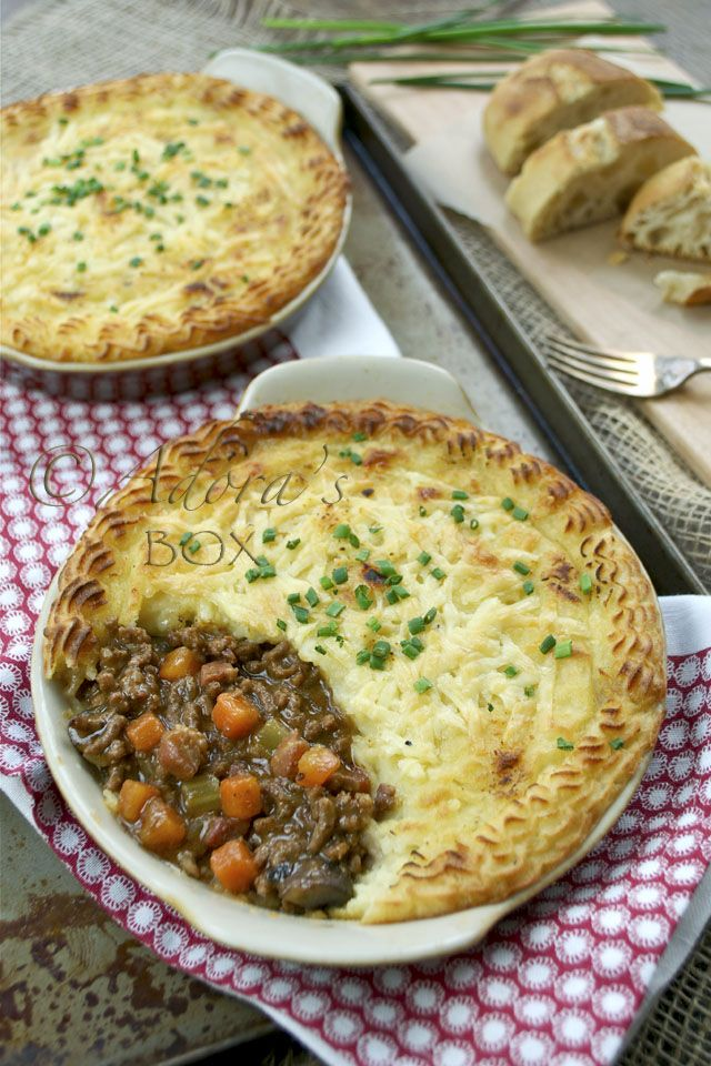 Traditional English Cottage Pie