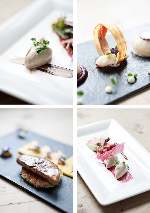 Adler Schwarzwald in Germany... food from the great Michelin Star restaurant