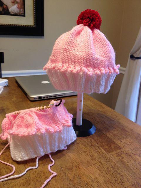 Ravelry: checkin53's Cupcake Hat