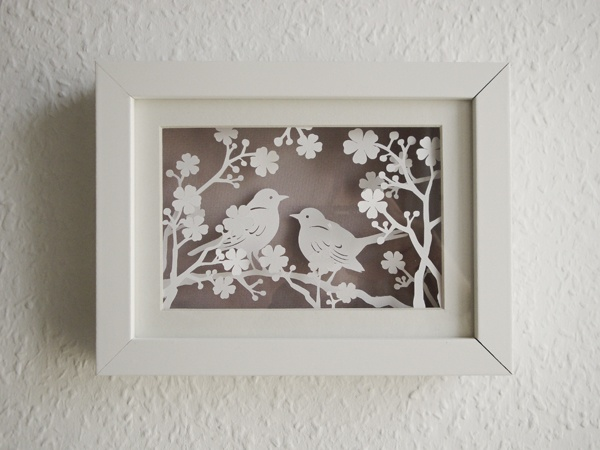 Paper cut birds by faltmanufaktur