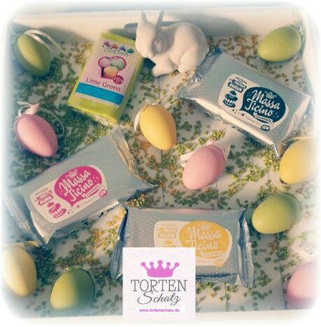 Die schönsten Fondant Farben für Oster Kreationen!   www.tortenschatz.de   #massaticino #funcakes #torten #tortendeko #tortenschatz #tortendeko #ostern #easter #osterhase #photooftheday #foodporn #picoftheday #cakedesign