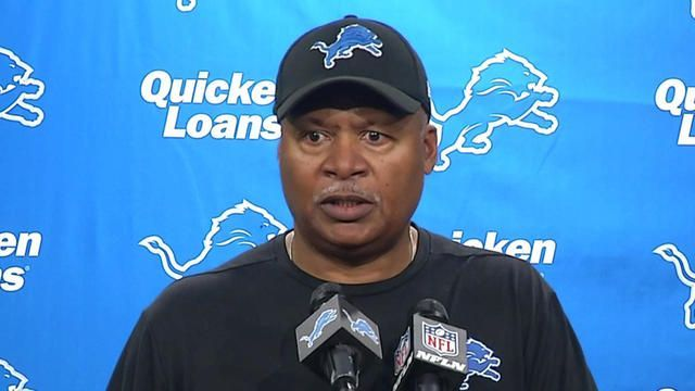 Detroit Lions Jim Caldwell: 'The sky is not falling for us'