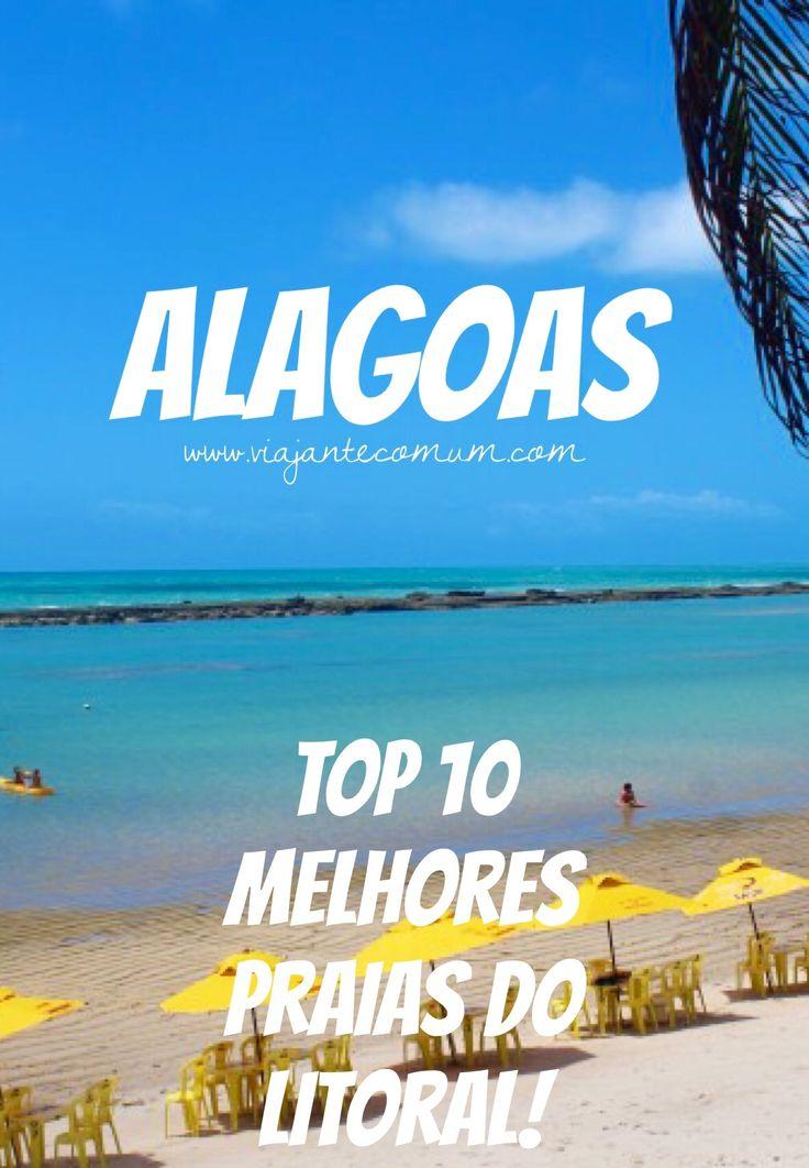 As dez melhores praias de Alagoas!