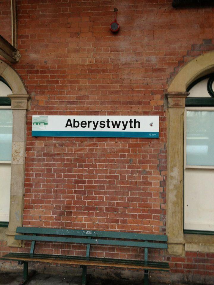 Aberystwyth Railway Station (AYW) in Aberystwyth, Ceredigion