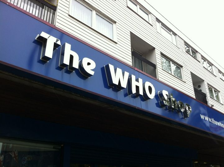 The Who Shop & Museum in Upton Park, Greater London