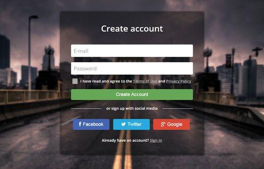 9 Creative CSS Form Designs From Codepen   SmashingApps.com
