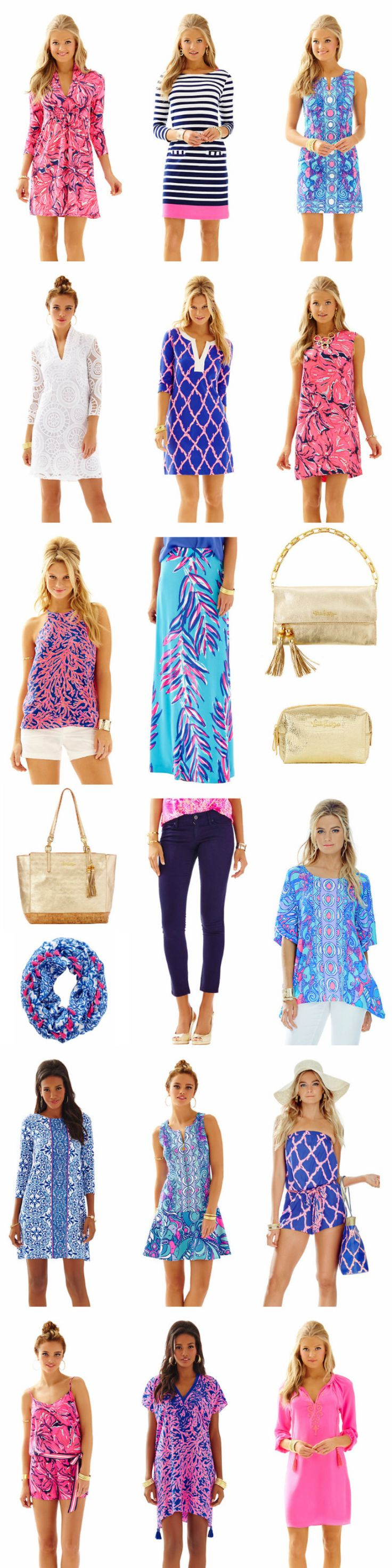 Lilly Pulitzer, go ahead and take all of my money! The new releases are GORGEOUS. #buymelilly